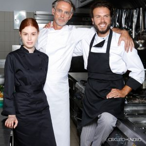 Circuito da Lavoro - Cotone Chef Si chef lancia - abiti da lavoro